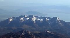 Mount Timpanogos (zeesstof) Tags: zeesstof aerial aerialview viewfromwindow windowseat flight commercialflight saltlakecitytohouston united unitedairlines geo:lat=4045045780 geo:lon=11132697344 geotagged utah evanston wyoming unitedstates usa