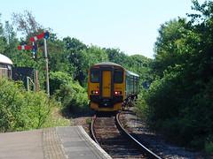 150234 Bere Ferrers (6) (Marky7890) Tags: gwr 150234 class150 sprinter 2p91 bereferrers railway devon tamarvalleyline train