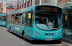 Arriva North East: 1458 NK10CGG (emdjt42) Tags: nk10cgg 1458 wright arrivanortheast arrivadurhamcounty stockton