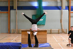 DSC_6143 (Amateur 'tog from Exeter) Tags: royalmarinescommando marinecadets rmvcc vcc ctcrm rm ctc lympstone military physdisplay babybootneck gym vaulting frontflip backflip kids children child pti pe exmouth exeter