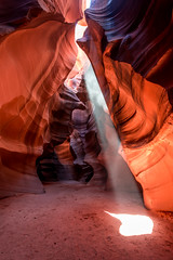 Upper Antelope Canyon Light Beams & Ghosts Fine Art Landscape Nature Photography! Elliot McGucken Page Arizona Slot Canyons Art! Red Sandstone Antelope Slot Canyons! Nikon D810 & Nikon AF-S NIKKOR 14-24mm f/2.8G ED Lens! (45SURF Hero's Odyssey Mythology Landscapes & Godde) Tags: upper antelope canyon light beams ghosts fine art landscape nature photography elliot mcgucken page arizona slot canyons red sandstone clot nikon d800 e afs nikkor 1424mm f28g ed lens d810