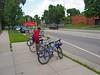 P1010432 (Minneapolis Public Works Streets) Tags: streetdesign bicycleparking bikerack pedestrian uptown parklet streetfurniture lyndale avenue commercial