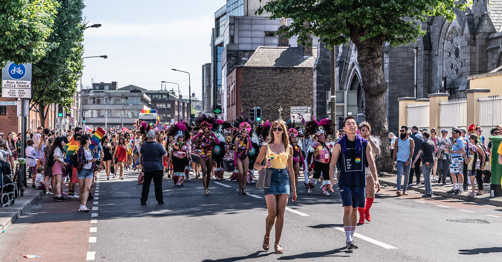 ABOUT SIXTY THOUSAND TOOK PART IN THE DUBLIN LGBTI+ PARADE TODAY[ SATURDAY 30 JUNE 2018] X-100186