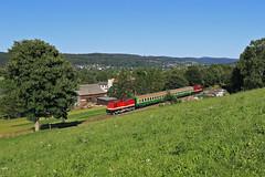 112 565 + 114 703   ( Press ) (René Große) Tags: train rail railways reisezug rb regionalbahn lok diesellok v100 112 114 olbernhau blumenau sachsen mitteldeutschland deutschland germany