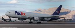FedEx 767 at KLAS (Alaskan Dude) Tags: travel las klas mccarren mccarreninternationalairport planespotting airplanes airliners airliner aviation planewatching