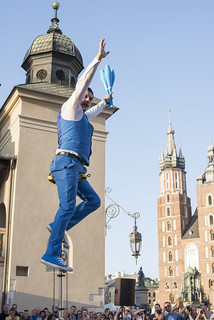 Mr. Tartuffo, Tug of War, 31st ULICA Street Theatre Festival, Krakow, Poland