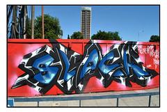 STREET ART by LOVEPUSHER (StockCarPete) Tags: lovepusher streetart londonstreetart croydon cronx urbanart graffiti lettering