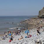 Southerndown beach, Vale of Glamorgan, Wales thumbnail