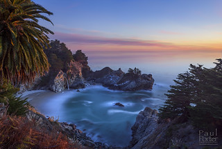 A Winter's Evening in Big Sur