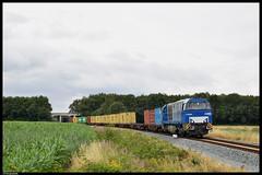 BE D22 met Coevorden-shuttle, Mariënberg (TrainplazaNL) Tags: be d22 g2000 coevorden shuttle mariënberg
