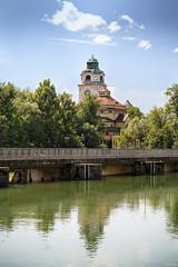 Müllersches Volksbad (lichtauf35) Tags: munich2018 citywalk river isar waterreflection bluecloudysky summertime architecture sigmaex85f14 5dmk2 lightroom acdsee 2000views lichtauf35