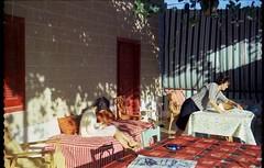 1971, Summer in Shirin Lebanon (maralina!) Tags: lebanon liban summer été shirin mountains summerhouse vacation summervacation summerholiday vacancesdété veranda balcon balcony vergine diginvergine oldphoto vintage retro 1971 1970s