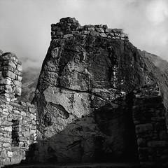 Altar, Sayacmarca, Peru (austin granger) Tags: altar sayacmarca peru inca incatrail time archaeology evidence temple stone square film gf670 religion