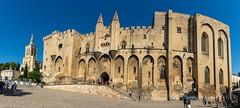 Popes Palace Panorama, Avignon (Scottmh) Tags: 2018 europe architecture avignon d7100 france june nikon palace panorama popes summer travel