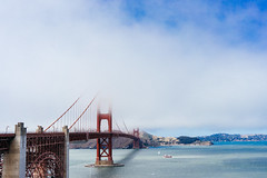 Golden Gate Bridge (Atibordee_K) Tags: golden gate bridge usa unitedstates san francisco