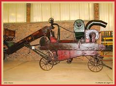 John Deere (In Explore) (Johann (Sasolburg, RSA.)) Tags: johndeere johanndejager makemesmile canonpowershots2is equipment patina machinery implement farmimplement