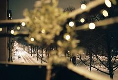 Stockholm - Kodak Portra 400 [Explored] (D   S) Tags: canon ae1 fd fdn 50mm 5014 analog film kodak portra 400 stockholm snow winter night inexplore explored explore