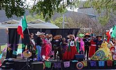 FIESTA DE LAS AMERICAS (Fotoman364) Tags: fiesta phoenix arizona mexican hispanic unity equality america singer singers entertainer entertainment spanish celebration teenagers flags amigo sunshine costume