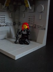 Stackable modular space scenery (SaurianSpacer) Tags: lego moc classicspace blacktron scenerybuild