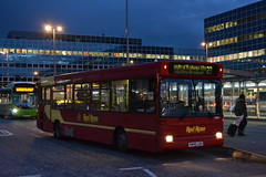 Red Rose 50507 R445LGH (Will Swain) Tags: milton keynes central station 16th march 2018 bus buses transport travel uk britain vehicle vehicles county country england english buckinghamshire red rose 50507 r445lgh dennis dart goahead london ldp45