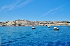 2016-06-08g rejs - Vittoriosa (17) (aknad0) Tags: malta vittoriosa morze architektura krajobraz statki