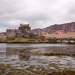 Eliean Donan at low tide thumbnail