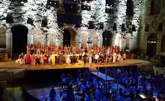 Herodium (spicros78) Tags: sunset theater herodion athens ancient actors chorus opera samsunggalaxys6 nightcapture scene