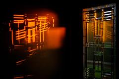 Hot Summer Night (Nicholas Erwin) Tags: abstract weird creative warm sunset window reflection light goldenhour summer evening contrast waterbury vermont vt unitedstatesofamerica usa fujifilmxt2 fujifilm xt2 xf35mmf2 xf35mmf2rwr fav10 fav25