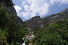 Ravana falls (ahmad al-shawaf) Tags: falls waterfall mountain srilanka ravana pentax pentaxk1 nature sky cloud clouds tree trees