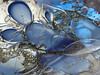 bubbles again... (doc(q)man) Tags: glass art glassart fonsuytdehaag detail sculpture glassblowing blue bubble air reflection abstract surface rhythm pattern color light docman