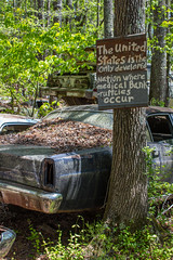 Truth (Todd Evans) Tags: canon t6 efs1855mmf3556isii oldcarcity georgia ga rust rusty abandoned decay rural folkart
