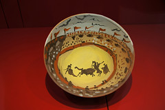 Pablo Picasso - set of bowls with bullfighting scenes (honeylotus) Tags: france languedocroussillon frenchcatalonia picasso céret occitanie pyrénéesorientales art artgallery bullfighting bullring