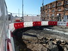 20180419 Blackpool tram track revealed (blackpoolbeach) Tags: blackpool tramway tram rail excavation talbot square roadworks north pier counting house streetcar track junction