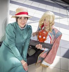 _MG_7252 (Mauro Petrolati) Tags: romics 2018 howl cosplay cosplayer sara sophie hatter etto tosca castello errante miyazaki