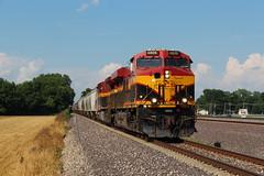 KCS 4806 (CC 8039) Tags: kcs up trains es44ac ac44cw southern belle granite city illinois