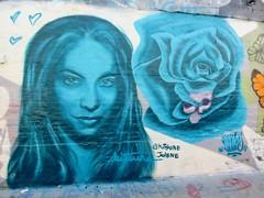 Kitsune & Plur / Werregarenstraatje - 14 jul 2018 (Ferdinand 'Ferre' Feys) Tags: gent ghent gand belgium belgique belgië streetart artdelarue graffitiart graffiti graff urbanart urbanarte arteurbano ferdinandfeys plur