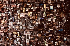Crazy Collecting (Jojorei) Tags: polaroid camera kamera foto photo collecting sammeln design art style stil kunst wand einrichtung interior decoration sofortbildkameras viel many zuviel krankhaft kodak canon nikon instant