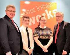 Visiting East Lothian Works with Martin Whitfield MP