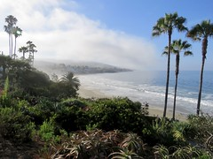 Laguna Beach, 8:00 a.m. (Bennilover) Tags: lagunabeach mainbeach morning early mist quiet california july