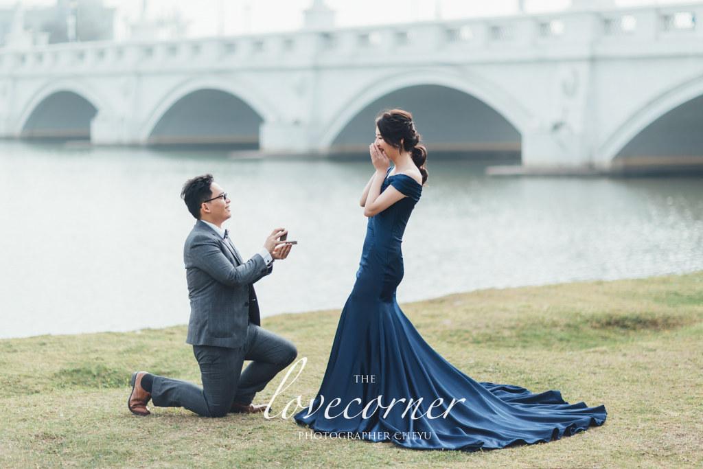 台南婚紗 - 中式老塘湖!歐式奇美博物館!浪漫森林系!統一次擁有! Lin haute Bridal 婚紗