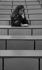 Laura, Humanities student at her classroom, University Pompeu Fabra (UPF), Barcelona. (heraldeixample) Tags: heraldeixample bcn barcelona spain espanya españa spanien catalunya catalonia cataluña catalogne catalogna dona woman mujer frau femme fenyw bean donna mulher femeie 女人 kadın женщина หญิง boireannach kobieta maca bella pretty guapa jolie beautiful belle fermosa 美しい女性 frumoasă 美丽的女人 noia girl chica fille menina mädchen merch cailín ragazza pige девушка fată 女の子 jente 女孩 κορίτσι vilaolimpica olympicvillage 1992 1992games jocs1992 juegos1992 jjoo1992 upf universitat universidad university estudiants estudiantes students fabra pompeufabra ngc albertdelahoz nationalgeographic