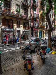 streets of barcelona (sylvain.landry) Tags: photo hdr espagne barcelona gx8 street bestof barcelone rue spain panasonic lumix wwwsylvainlandrycom photographer