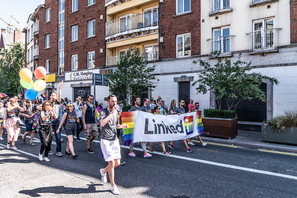 ABOUT SIXTY THOUSAND TOOK PART IN THE DUBLIN LGBTI+ PARADE TODAY[ SATURDAY 30 JUNE 2018] X-100283