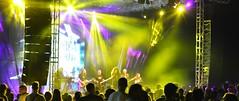 Concert of the Kerber group (marijanaivljanin993) Tags: people crowd stage concert blur music lights night singer group vrnjackabanja srbija serbia camera focus photo nikon d3200