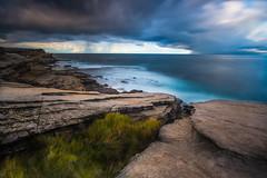 Jack Vanny Memorial Park_DSF2105 (autrant) Tags: sydney ocean cloud longexpousure sea water rock wave maroubra fujifilm