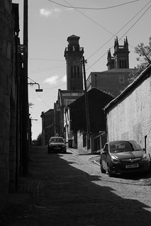 Alleyway, West End of Glasgow