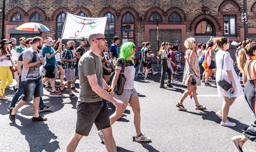 ABOUT SIXTY THOUSAND TOOK PART IN THE DUBLIN LGBTI+ PARADE TODAY[ SATURDAY 30 JUNE 2018] X-100174