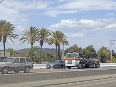 Edco Truck 7-6-18 (2) (Photo Nut 2011) Tags: california garbagetruck trashtruck sanitation wastedisposal waste truck garbage junk trash refuse sandiego edco rolloff 623 highway78