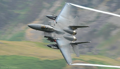 Boeing F-15E Strike Eagle (kevinclarke1969) Tags: boeing strike eagle f15e low level slow shutter movement
