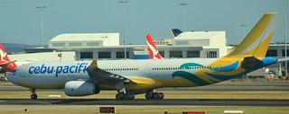 RP-C3347 | Cebu Pacific | 5J40 | SYD - MNL | Airbus A330-343 | Sydney Kingsford Smith Airport | (SYD/YSSY)